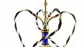 Large Luxurious Glass Hookah (4 person)