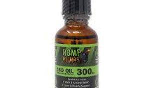 Hemp Bombs - 300mg CBD Oil - Peppermint Flavor