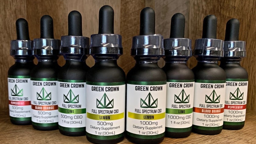 GREEN CROWN - 500MG CBD OIL