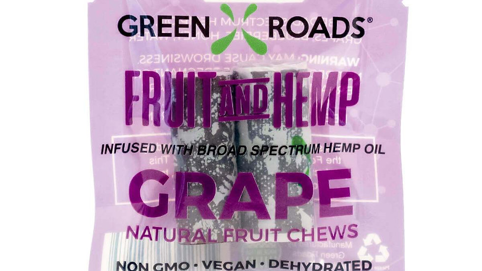 Green Roads - 25MG Grape Fruit and Hemp