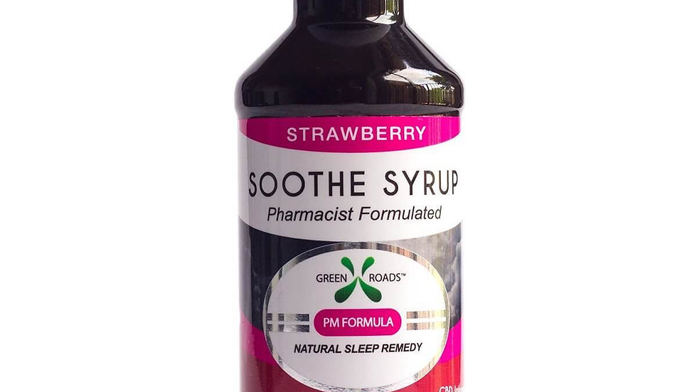 Green Roads - CBD Soothe Syrup - Strawberry