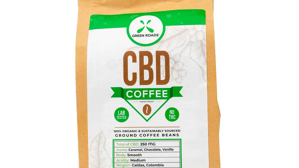 Green Roads - CBD Coffee - 8oz