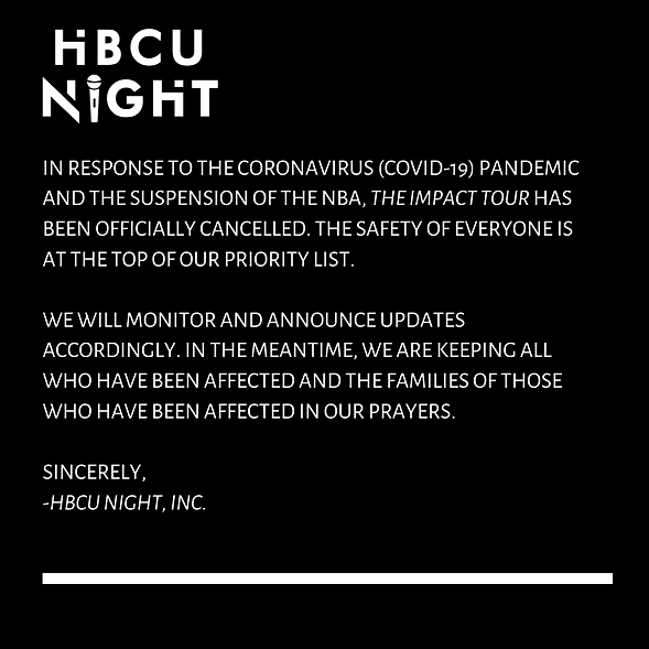 HBCU Night COVID-19 announcement.PNG