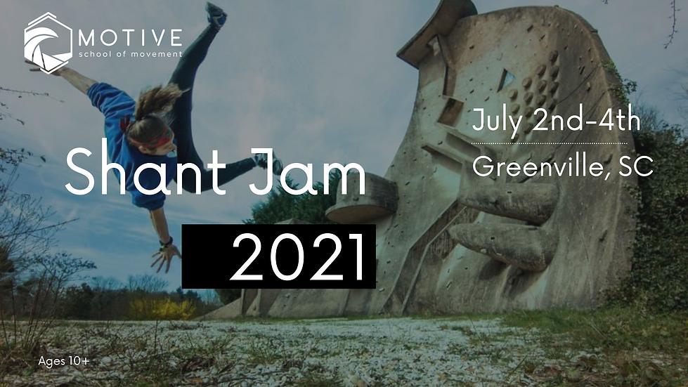 Shant Jam 2020 Saturday, September 5th (