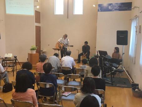 Pray for Japan - Day 9 Saiwaicho Christ Church