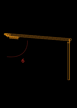Pergola Retractabila Cedrus Detalii Tehnice 1