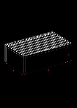 Pergola Bioclimatica SkyCloud Detalii Tehnice 2