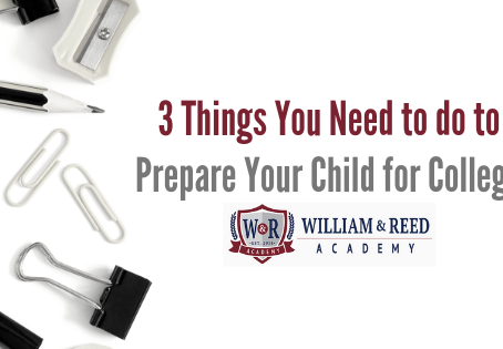 3 Things You Need to do to Prepare Your Child for College