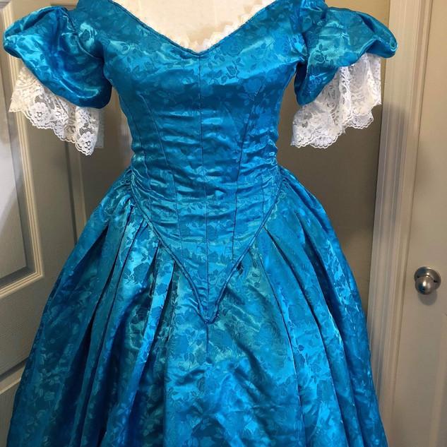 Bleu belle gown