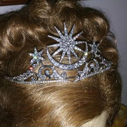 Edwardian star tiara