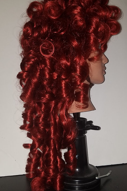Fire red ringlets sample sale