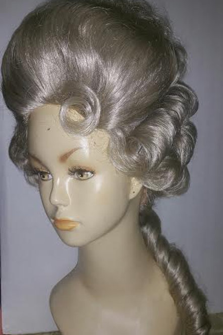 GREY Von Fersen male or female wig
