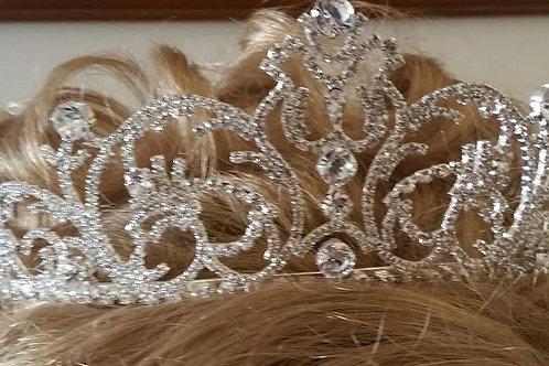 Lacey crystals tiara