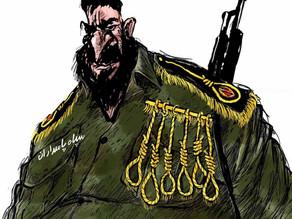 کاریکاتوریست اردنی؛ سپاه و افتخار اعدام!