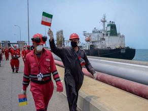 جمهوریاسلامی با تغییر هویت یک نفتکش، «در حال بارگیری» نفت ونزوئلا است