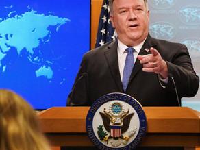 پمپئو: با کشتن سلیمانی و کاهش تهدید ایران، در سیاست خارجی خود واقعگرایانه عمل کردیم