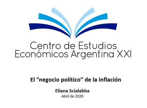 """El """"negocio político"""" de la inflación"""