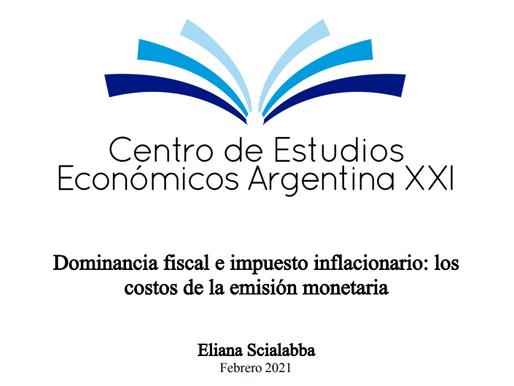 Dominancia fiscal e impuesto inflacionario: los costos de la emisión monetaria