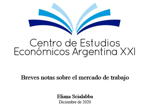 Breves notas sobre el mercado de trabajo - Eliana Scialabba