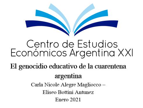 El genocidio educativo de la cuarentena argentina