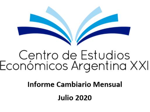 Informe Cambiario Mensual Julio 2020