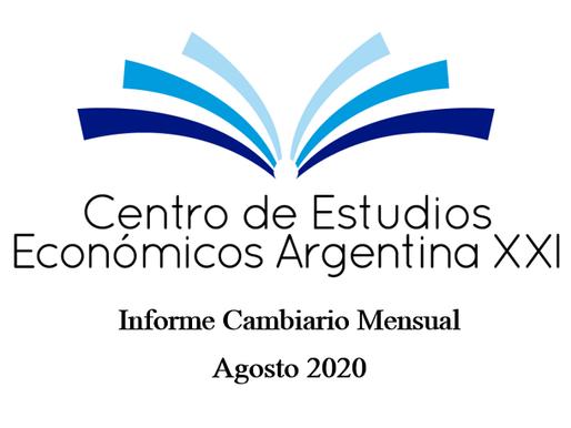 Informe Cambiario Mensual Agosto 2020