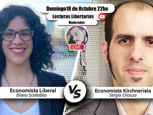 Debate Liberalismo vs. Kirchnerismo