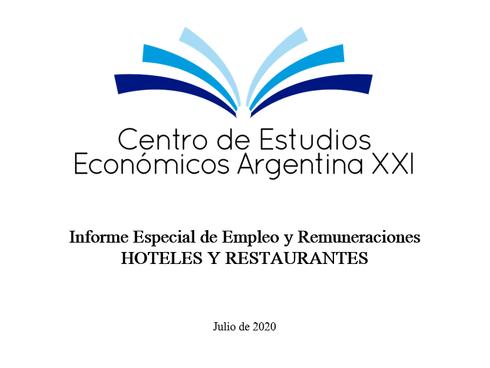 Informe Especial de Empleo y Remuneraciones