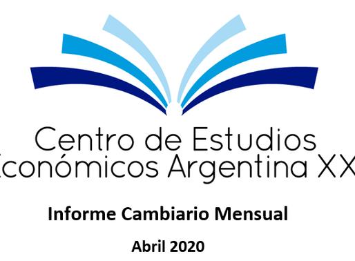 Informe Cambiario Mensual Abril 2020
