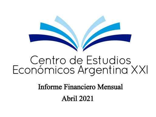 Informe Financiero Mensual (Abril 2021)