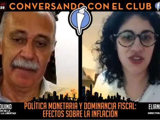 EN VIVO - Club de la Libertad: Política Monetaria y Dominancia Fiscal: Efectos sobre la Inflación