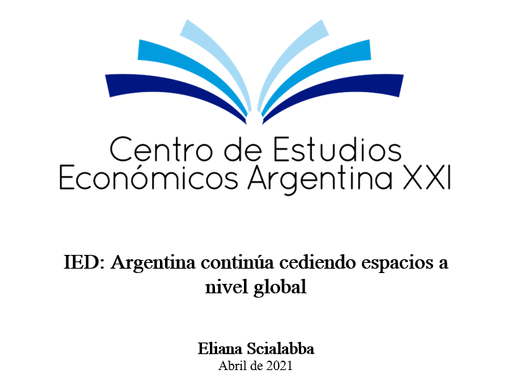 IED: Argentina continúa cediendo espacios a nivel global