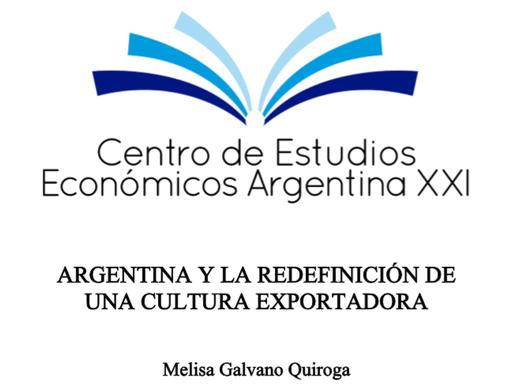 ARGENTINA Y LA REDEFINICIÓN DE UNA CULTURA EXPORTADORA
