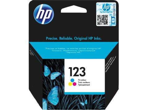 HP 123 Color Original Ink Cartridge