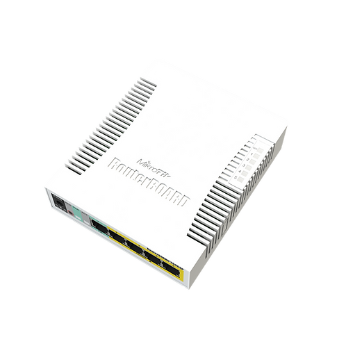 MikroTik Switches RB260GSP CSS106-1G-4P-1S