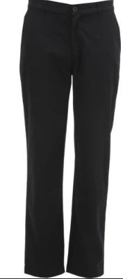 Girl's Flat Front, Adj. Waist Straight Leg Slack (Juniors)