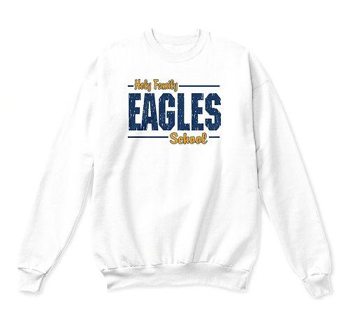 HFS Eagles Adult Spirit Crewneck Sweatshirt (HFS-18000)