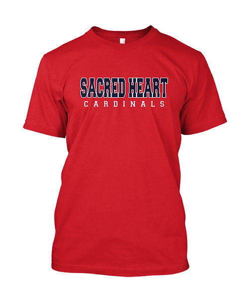 SH Youth Cardinals Spirit Short Sleeve Tee (SH-8000B)