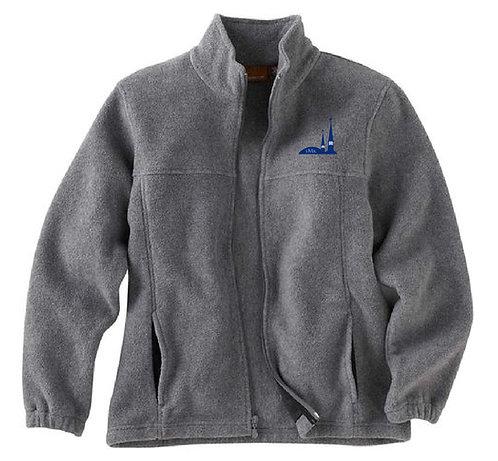 SMK Youth Full Zip Charcoal Fleece Jacket (SMK-M990Y)