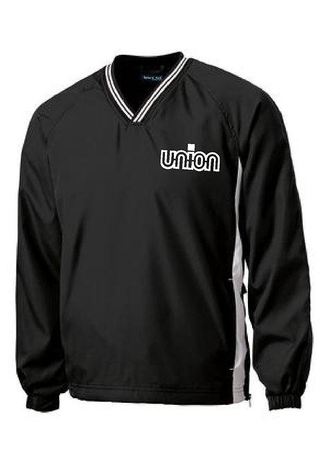 Union Logo ST V-Neck Wind Shirt (UV-JST62)