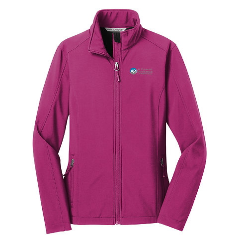 PA Ladies' Core Soft Shell Jacket (API-L317)