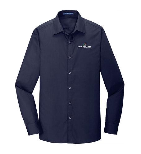 PA Men's Slim Fit Carefree Poplin Shirt (LLH-W103)