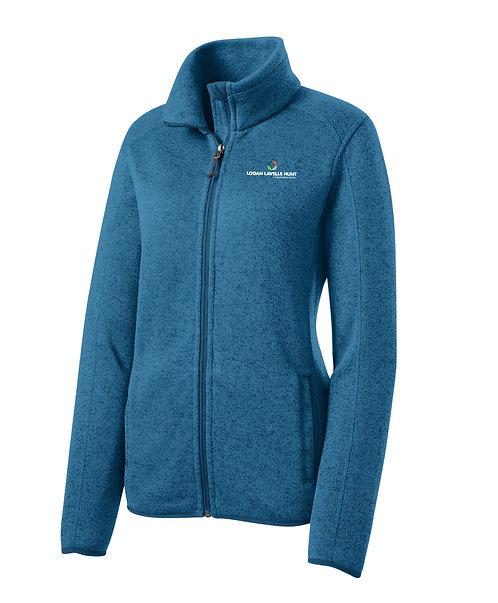 PA Ladies' Sweater Fleece Jacket (LLH-L232)