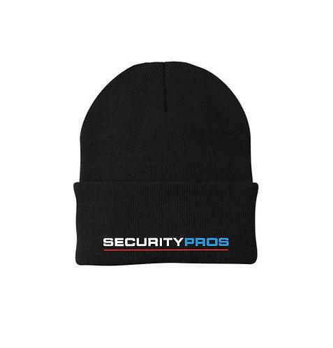 SecurityPros Knit Toboggan - Black (SP-CP90)