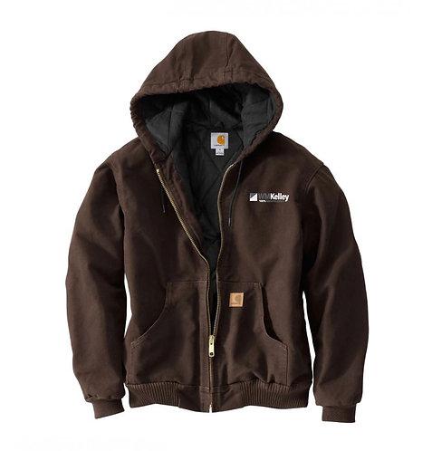 Men's Quilted Flannel Lined Jacket (WMK-J130)