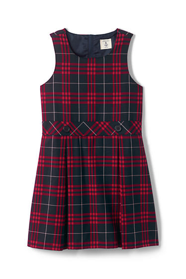 SMK Girl's Plaid #37 Jumper (3-18)