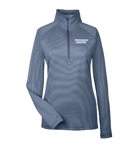 UA Ladies' Tech Stripe Quarter-Zip Pullover (PHSBB-1289408-E)