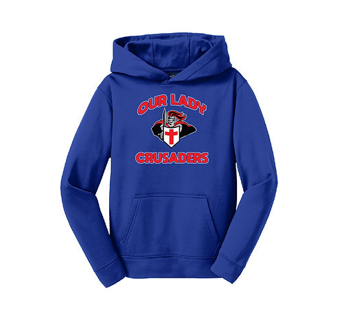 Our Lady Crusaders Adult SportTek Hoodie (OLPH-F244-P)