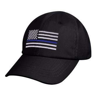 Thin Blue Line Mesh Hat (RCW-9973)