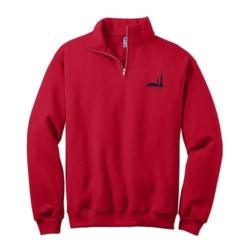 SMK Adult 1/4 Zip Sweatshirt - 4th-8th Grade Only (SMK-995M)